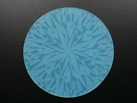 ダイヤモンドコースター/ブルー