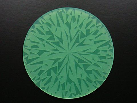 ダイヤモンドコースター/グリーン