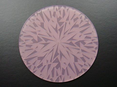 ダイヤモンドコースター/ピンク