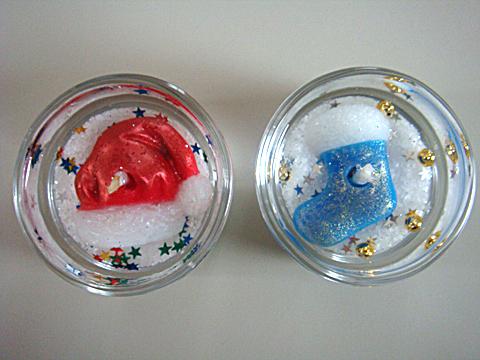 Miniゼリーキャンドル【クリスマス3】