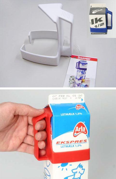 BRIX Carton Grip【ミルクホルダー/ホワイト】