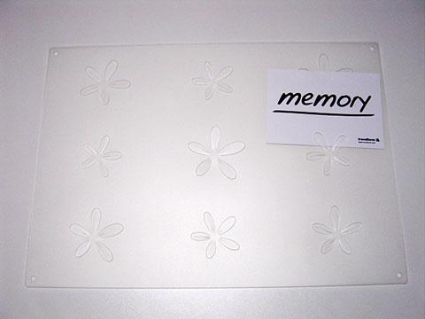 Memory 【メモボード/シルバー】